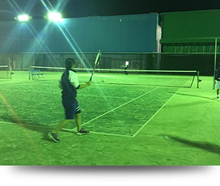 ソフトテニスのレッスン